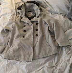 XL, Grey, Faded Glory Pea Coat